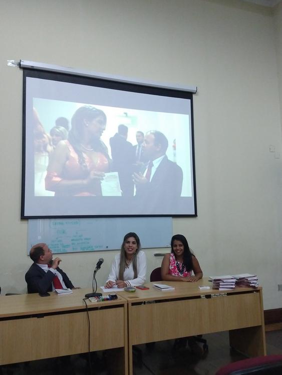 Palestra na Faculdade de Direito de Pernambuco - UFPE